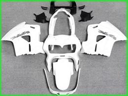 Deutschland Geben Sie Schiff alle weißen Verkleidung Kit für 1998 1999 2000 2001 Honda VFR800RR Interceptor VFR800 VFR 800 98 01 Versorgung