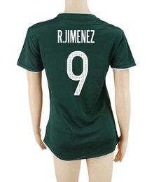 Wholesale Mexico Jersey Cheap - Customized Thailand Quality Mexico Women home Green 9 R.Jimenez Soccer Jerseys Shirt,Discount cheap 10 J.M.Corona With Your Name and Number