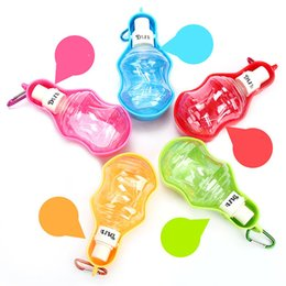 Wholesale Indoor Water Fountain Wholesale - 250mL Portable Travel Drinking Fountain Water Bottle Bowl Water Dispenser Travel Waterer for Pet Dog and Cat Folding Pet Water Bottle