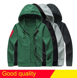 Wholesale horse sweatshirts - Drop Free Shipping newest Hot sale Mens polo Hoodies and Sweatshirts autumn winter casual with a hood sport jacket men's hoodies big horse