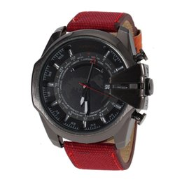 Wholesale Red Map - Luxury Top Brand Men's Watches With Date World Map Sport Quartz wristwatches Fashion Casual Watch Clock Male good gifts for mens & boys 2017