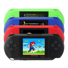Wholesale Play Console Games - Game Player PXP3(16Bit) 2.5 Inch LCD Screen Handheld Video Game Player Console With Free Card For Kid Play TV Video Game