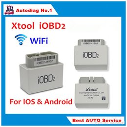 Wholesale Xtool Iobd - NEW XTOOL iOBD2 WiFi Code Reader Android & IOS iOBD 2 OBDII Automotive Diagnostic Tool Supports iPhone iPad Better Than ELM327