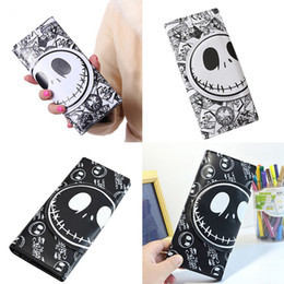 Wholesale Fashion Movie Photos - Wholesale- New Comics Nightmare Wallets 18*8.5*2cm Long Unisex Thriller Movie Cartoon Jack Skull Purses PU Leather Clutch