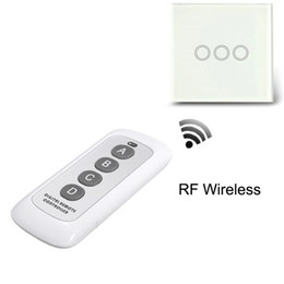 Wholesale Digital Rf Controller - Wholesale-Portable RF 443MHz 12V 0.5W Plastic Mini Digital Wireless Remote Control Controller Wall Touch Light Lamp Switch Accessaries