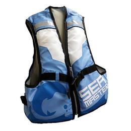 Wholesale Baby Swim Life Jackets - Wholesale- Child Kids Baby Buoyancy Aid Swimming Sailing Floating Life Jacket Life Vest with Crotch Strap