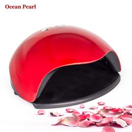 Wholesale Ocean Pearls - Wholesale- OCEAN PEARL 48W Nail Dryer UV LED Lamp UV Lamp Double light motion sensor Manicure Nail Lamp UV Gel Polish Nail Art Tools sun5x