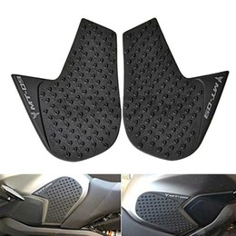 Wholesale Wholesale Tank Pads For Motorcycles - Motorcycle Side Tank Pads Traction Grips YAMAHA MT-09 FZ-09 2014-2016 For Pairs In Black Color With High Quality 3M Glue