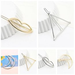 Wholesale China Hair Pieces - Best gift New five-pointed star 8-word side clip hair clip Liuhai folder frog clip folder FJ029 mix order 60 pieces a lot