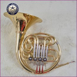 Wholesale French Horn Double - Wholesale- Professional horn double four key French horn split XFH-30 Bb F