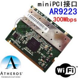 Wholesale Wlan Card Pci - Wholesale- Atheros AR9223 Mini PCI Network WIFI wireless WLAN Card Laptop 802.11 a b g n