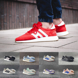 Wholesale Shoes Online - 2017 Original Iniki Runner Boost Iniki Retro Mens Running Shoes OG London Iniki Sneakers high quality sports shoes US 5-11 Hot sale online