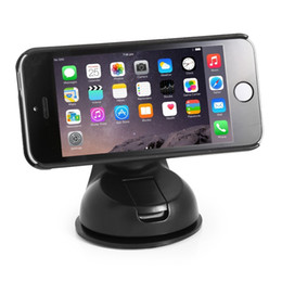 Wholesale Apple Suction Cups - Magnet Cell Phone Holder Suction Cup Magnetic Phone Mount for Windshiled Dashboard for iphone 6 7 7plus for Samsung Android Phone