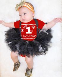 Adorável Bebê Recém-nascido Vermelho Do Bebê Do Miúdo Meninos Meninas Bonecos De Neve Meu Primeiro Natal Romper Macacão Outfits Traje Conjunto de Fornecedores de traje de boneco de neve de natal