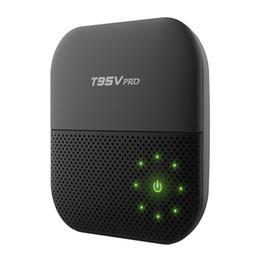 Wholesale Blackbox Hdmi - 20PCS Custom Made T95Vpro-2GB 16GB Smart Android6.0 Marshmallow IPTV TV boxes 4K Ares Spinz Appolo Blackbox S912 Octa core 5.0G WIFI