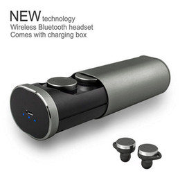 Wholesale grey socket - TWS B1 Headset Wireless True Wireless Bluetooth 4.1 Earbuds with Charging Socket Mini Stereo Earphone auriculares inalambrico
