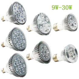 Wholesale Ul Led Par Lamp - Dimmable Led bulb par38 par30 par20 9W 10W 14W 18W 24W 30W E27 par 20 30 38 LED Lighting Spot Lamp light downlight