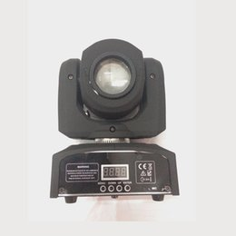 Wholesale Moving Head Lights China - 2016 Hot 30W China Led Mini Gobo Spot Moving Head Light 2pcs a lots DHL Fast FreeShipping stage disco dj lights