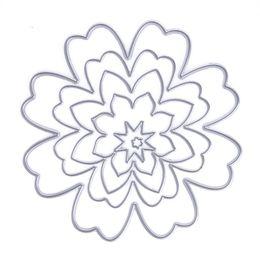 Wholesale Metal Albums - ASLT Basic Flower Metal Cutting Dies Stencils for DIY Scrapbooking photo album Decorative Embossing DIY Paper Cards