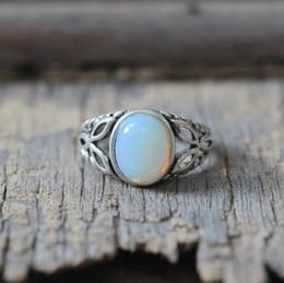 Wholesale Bella Moonstone - moonstone ring lovely girl bella ring vampire movie inspired The Saga jewelry oval stone silver charm