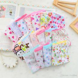 Wholesale Cute Underwear For Baby Girls - High Quality 6pcs pack 2016 Fashion New Baby Girls Underwear Cotton Panties Children Underpants Cute Design For Girls Kids Short Briefs