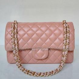 Wholesale Double Flap Purse - Lowest Price ! Women Messenger Bags Handbags Famous Brands Shoulder Bag Ladies Clutch Purses Double Flap Chain Bag Vintage Handbag