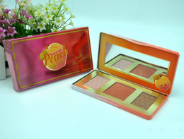 Wholesale Colors Elf - Bronzer And Highlighter Elf Makeup Highest Quality! Hot Makeup Sweet Peach Glow Bronzers & Highlightehot Highlighters Dhl free