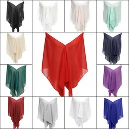 Wholesale Cheap Ladies Scarfs - Scarf Women 2017 Fashion Navy Blue Burgundy Mint Woman Shawl Wrap Neckerchief Bandana Foulard Soft Chiffon Ladies Scarves In Stock Cheap