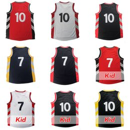 Wholesale Cheap Black Clothing - cheap men's youth kids adult 2016 Demar DeRozan jersey 7# Kyle Lowry High quality 100% Stitched basketball jerseys clothes free shipping