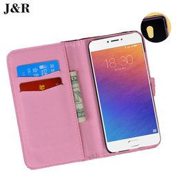 Wholesale Mos Case - For Meizu MX6 PRO Case Flip Case For Meizu PRO6 Leather Cover For Meizu PRO6 Luxury Protective Mo bile Phone Bag & Case