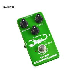 Wholesale Joyo Multi Effect Pedal - JOYO JF-10 Dynamic Compressor Guitar Effects Pedal Reduce The Redundant Dynamic Ensure Balanced Performance True Bypass