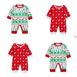Wholesale Sleepsuit Children - Clothes Romper Boy Girl Newborn Elk Children Baby Infant Baby Cotton Christmas Romper Jumpsuit Baby Sleepsuit Outfits
