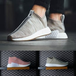 Wholesale Naked Original - Originals NMD CS2 PK Kith Naked Mens running shoes womens NMD boost NMD City Sock high quality Primeknit sneakers sports shoes eur 36-44