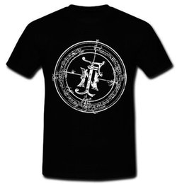 Wholesale Rock Band S - New Fields of The Nephilim Logo English Gothic Rock Band T-shirt Tee S M L XL 2X T Shirt Men 2017 Fashion