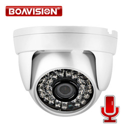 Wholesale Hd Filters - Security H.264 HD 1 2.8'' CMOS 1080P Indoor Dome 2.0MP IP Camera With Audio Realtime Use IR 20m 3.6mm Lens IR-Cut Filter For Onvif NVR