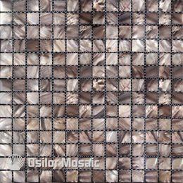 cor cinza tingida azulejo de gua doce chins me de prola mosaico de azulejos para decorao de casas de decorao de parede azulejo de banheiro e