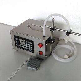 Wholesale Automatic Juice Machine - CE Electric Digital Control Pump Liquid Filling Machine 0.5-3500ml for liquid perfume water juice essential oil filling machine 1 head