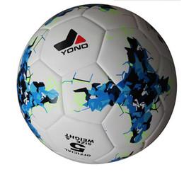 Wholesale Tpu Soccer Ball - 2016 new league football league football anti-slip granules balls TPU premiership Spanish football size 5