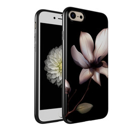 Wholesale Custom Iphone Case Design Wholesale - Custom Made Picture Printting Flower Pattern Customize Your Own Designs Soft TPU Rubber Back Cover Case for Apple iPhone 7 7Plus 6S 6SPlus