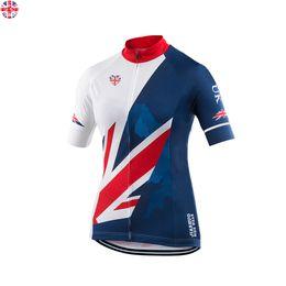 Wholesale Cycling Jerseys Uk - Women Customized NEW 2017 UK LOVE Bike mtb road RACE Team Funny Pro Cycling Jersey   Shirts & Tops Clothing Breathing Air JIASHUO