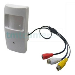 Wholesale Spy Wires - HD 700TVL Sony CCD Mini CCTV Security 3.7mm Pinhole Hidden Spy Audio Mic CameraClosed System CCTV - Wired