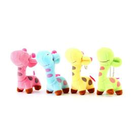 Wholesale Baby Animals Giraffe - New Lovely Cute Kids Child Giraffe Gift Soft Plush Toy Baby Stuffed Animal Doll Fashion