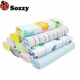 Wholesale wholesale baby cotton wash cloths - Wholesale- 8 pcs lot New Baby Soft 20*20cm Cotton Towels Feeding Wash Towel Oral Hygiene Saliva To Clean #F