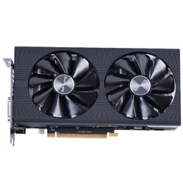 Wholesale Graphic Cards Hdmi - NEW Arrival Sapphire Radeon OC RX 580 video card RX580 4G DDR5 graphics card DirectX12 2304SP Better than RX570 GTX1060