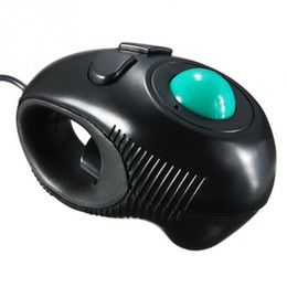 Wholesale Hand Trackball Mouse - New product trackball wired computer mouse hand-held multipurpose mouse for pc laptop