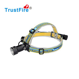 Wholesale Headlamp Led Ring - Headlight 420LM XM-L LED 18650 Headlamp 3-Modes Head Light Torch Flashlight Lamp + Charger + Cable + 2*Rubber O-ring & Lubricating Oil