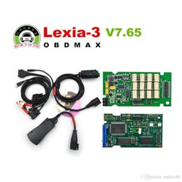 Wholesale Good Serial - Good Board Lexia3 Full Set Serial 921815C Diagbox V7.65 Lexia 3 PP2000 for Citroen Peugeot Diagnostic Tool