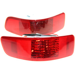 Wholesale Rear Light Assembly - Pair Rear Bumper Right Left Tail Fog Light Lamp Fit for Mitsubishi Outlander 2007-2012 PEUGEOT 4007 2007-2012 CITROEN C-Crosser
