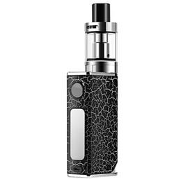 Регулируемая мощность электронные сигареты комплекты 80 Вт большой дым Vape атомайзер испаритель с 1500 мАч батареи USB заряд линии безопасной горячей продажи A016-1 от