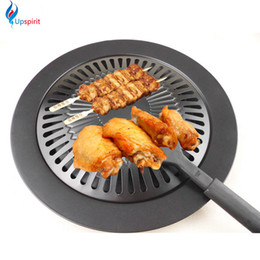 Wholesale Outdoor Cook - New Cooking Tools Non -Stick Gas Grill Pan Refined Iron Black Barbecue Bbq Frying Roasting Pans Outdoor Saucepan Panela Sartenes
